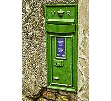 Old postbox. Photographic Print