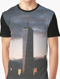 One World Trade Graphic T-Shirt