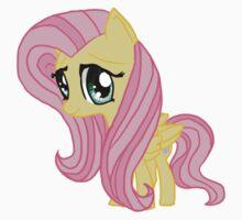 My Little Pony Fluttershy Chibi Kids Tee