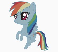 My Little Pony Rainbow Dash Chibi Kids Clothes