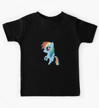 My Little Pony Rainbow Dash Chibi Kids Tee