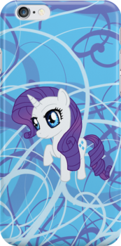 My Little Pony Rarity Chibi by IcyPanther