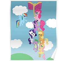 My Little Pony Group Hanging Out Poster