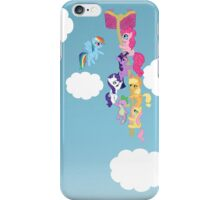 My Little Pony Group Hanging Out iPhone Case/Skin