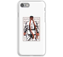 RYU01 - MAROON iPhone Case/Skin