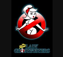 The REAL Lady Ghostbusters - Rule #63 Poster v2 Womens Fitted T-Shirt