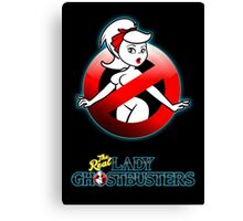 The REAL Lady Ghostbusters - Rule #63 Poster v2 Canvas Print