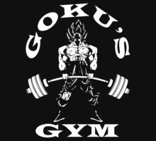 GOKU'S GYM by oolongtees