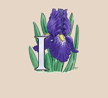 I is for Iris - full image Womens Fitted T-Shirt