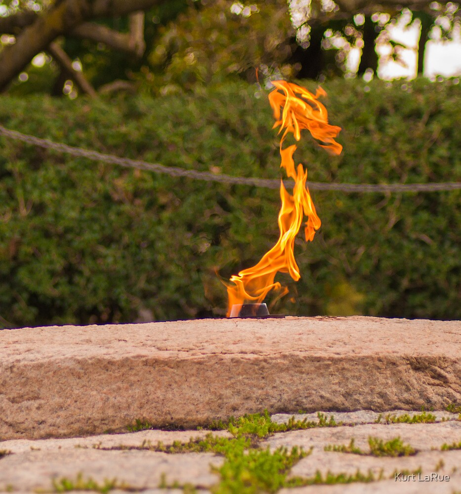 Study of the Eternal Flame (3 of 4) by Kurt LaRue