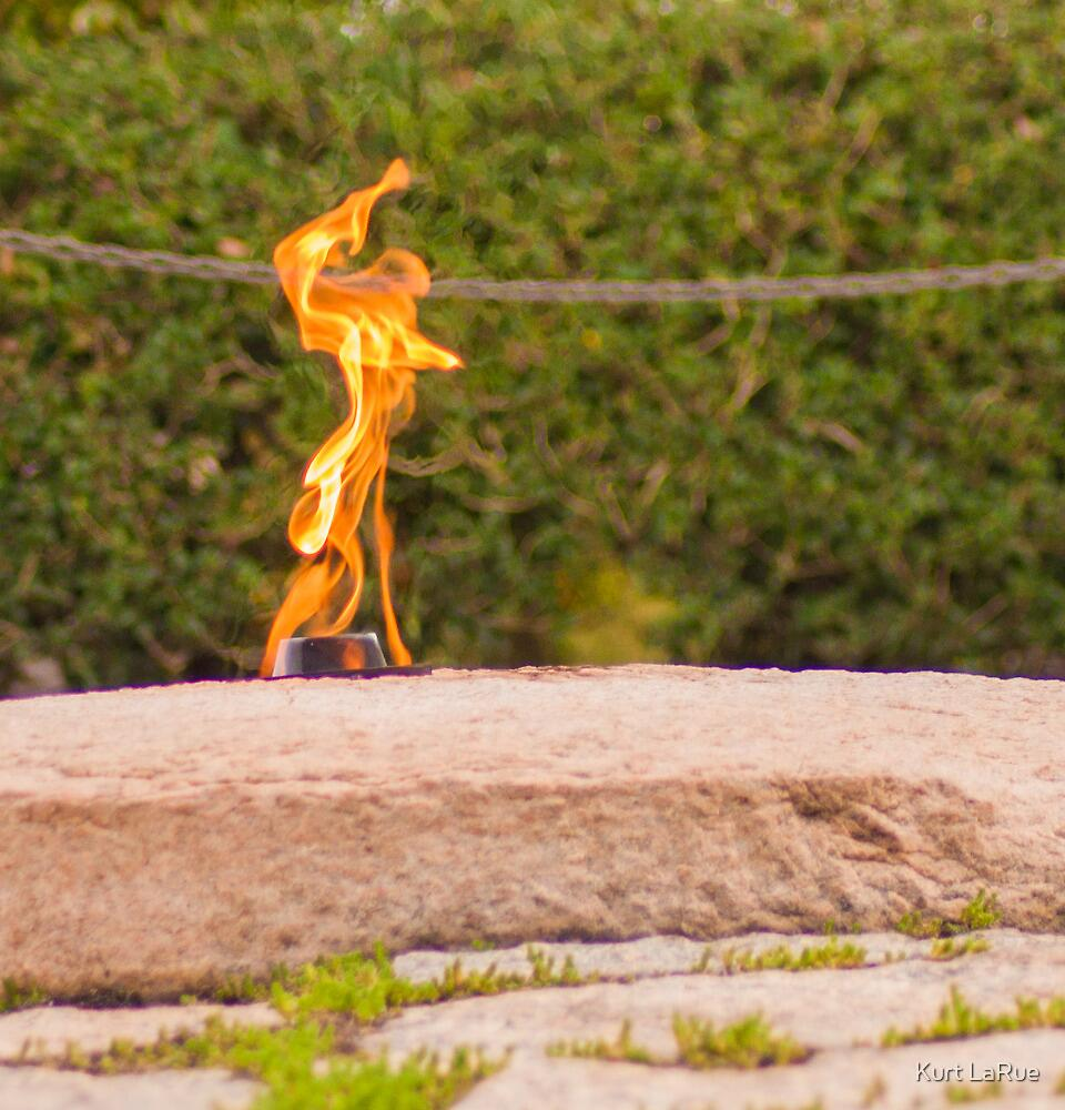 Study of the Eternal Flame (4 of 4) by Kurt LaRue
