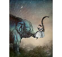 Bedtime Stories Photographic Print