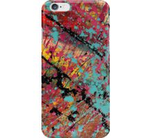 Number 100 Abstract by Mark Compton iPhone Case/Skin