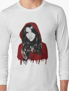 The Girl with the Red Hood Long Sleeve T-Shirt