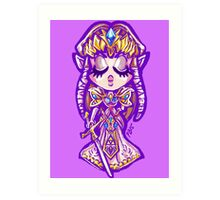 Chibi Princess Zelda Art Print
