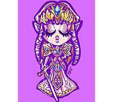 Chibi Princess Zelda Photographic Print