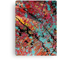 Number 100 Abstract by Mark Compton Canvas Print