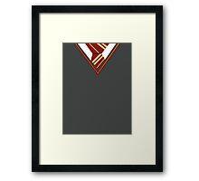 Gryffindor uniform Framed Print