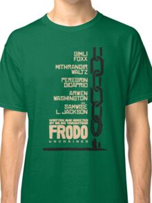 Frodo Unchained Classic T-Shirt