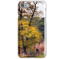 Ruins In The Park, Leicestershire, UK iPhone Case/Skin
