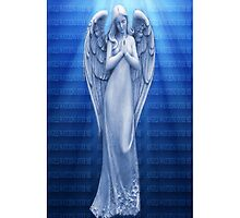 *•.¸♥♥¸.•*BLUE ANGEL RAYS OF LUV IPHONE CASE*•.¸♥♥¸.•*  by ╰⊰✿ℒᵒᶹᵉ Bonita✿⊱╮ Lalonde✿⊱╮