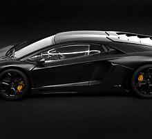 Lamborghini Aventador LP700-4 side profile by Stanislaw