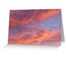 Mother Nature's Paintbrush  Greeting Card