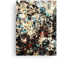 Number 101 Abstract by Mark Compton Canvas Print