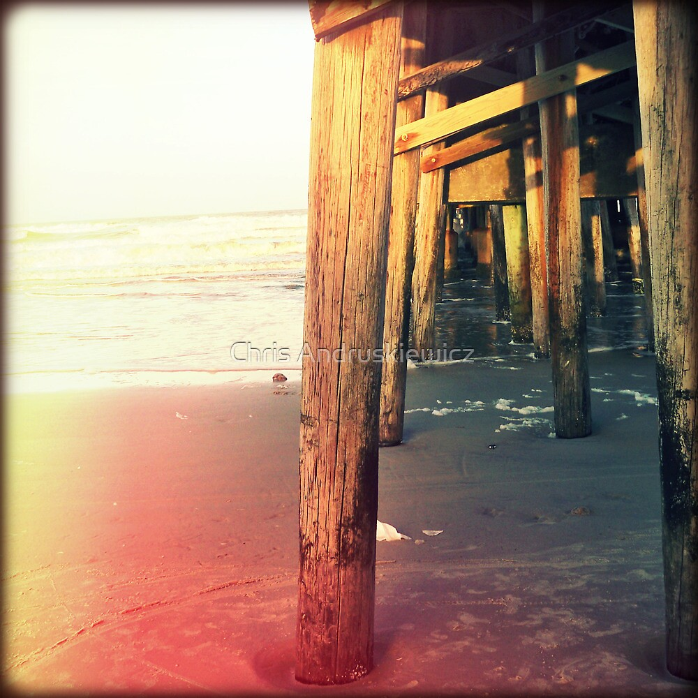 Under the Pier by Chris Andruskiewicz