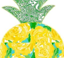 Lilly Pulitzer Pineapple by lgeldziler