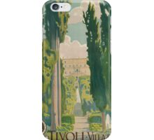 Vintage poster - Italy iPhone Case/Skin