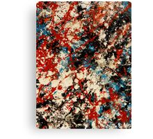 Number 102 Abstract by Mark Compton Canvas Print