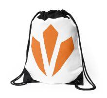 Vitality - Orange Drawstring Bag