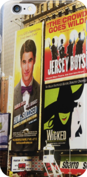 Darren in Times Square by msciaranoelle