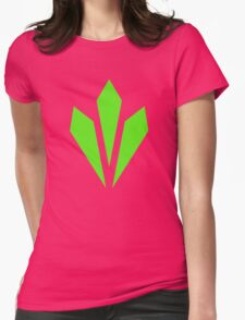 Vitality - Green Womens Fitted T-Shirt