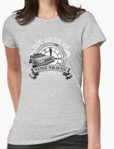 Doc Brown's Travel Agency Womens Fitted T-Shirt