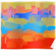 Abstract Art Painting Poster