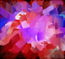 Abstract Art Painting 4 by Nhan Ngo