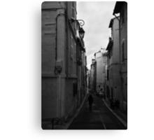 Bordeaux Street Scene Canvas Print