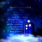 TARDIS on a Cloud by jlechuga
