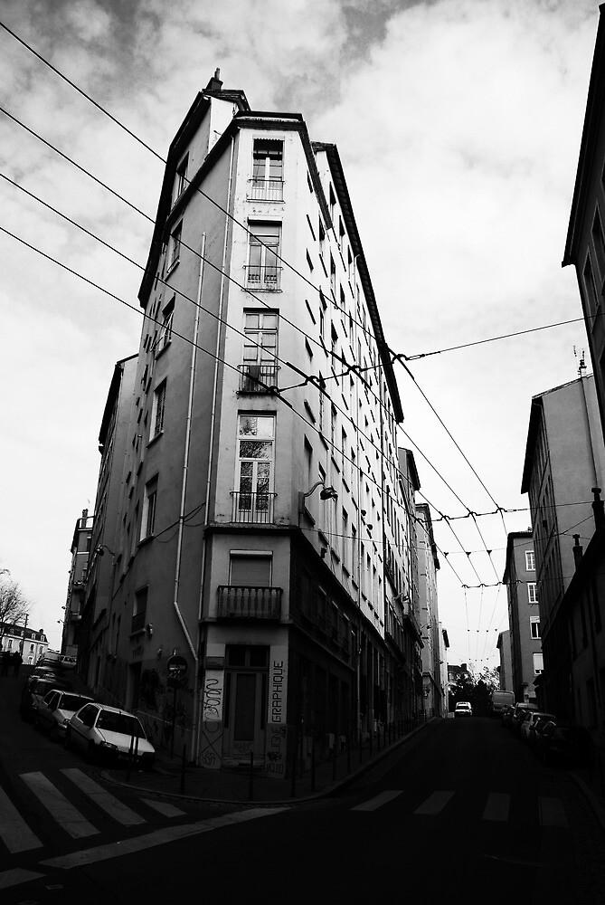 Lyon Street Scene by davidalf