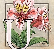 U is for Ulster Mary card by Stephanie Smith