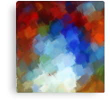 Abstract Art Painting 6 Canvas Print