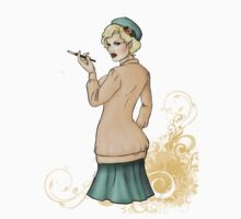 1920s Flapper Girl - Georgette 2 T-Shirt
