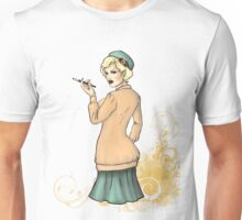 1920s Flapper Girl - Georgette 2 Unisex T-Shirt