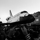 Space Shuttle on the Street II by davidalf