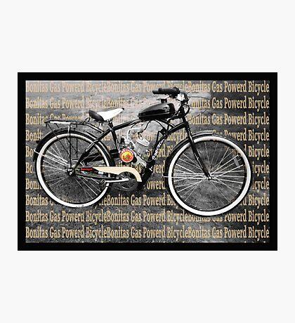 ✾◕‿◕✾ MY GAS POWERD BICYCLE ✾◕‿◕✾ Photographic Print