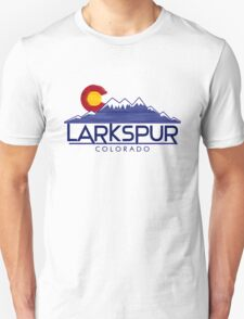 Larkspur Colorado wood mountains T-Shirt