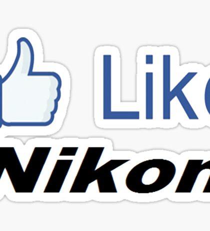 Like Nikon Sticker
