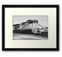 Sante Fe Trains Framed Print